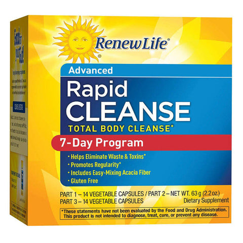 Renew Life 7-Day Total Body Rapid Cleanse