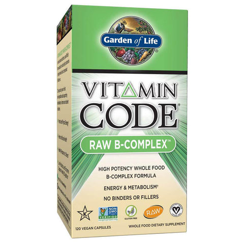 Garden of Life Vitamin Code RAW B-Complex (120 capsules)