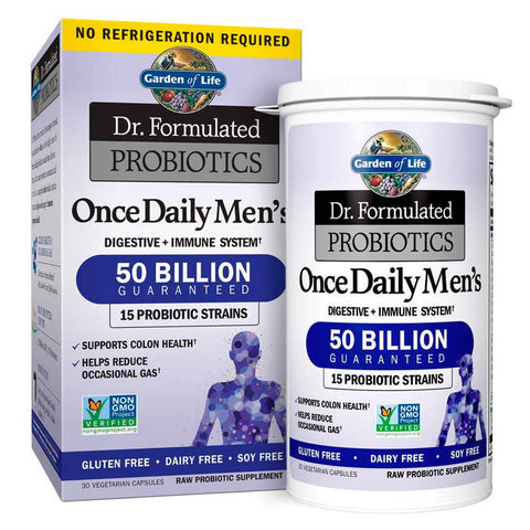 Garden of Life Dr. Formulated Probiotics Once Daily Men's (30 capsules)