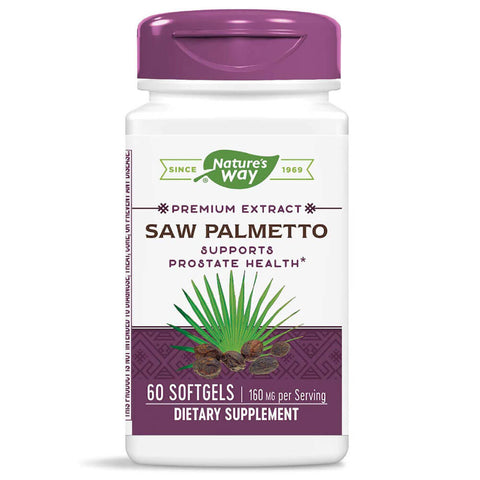 Nature's Way Standardized Saw Palmetto (60 capsules)