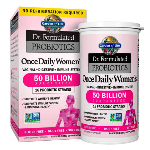 Garden of Life Dr. Formulated Probiotics Once Daily Womens 50 Billion (30 capsules)