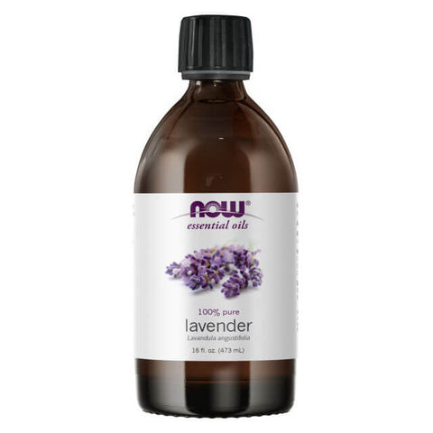 NOW Essential Oils Lavender Oil (16 fl oz)