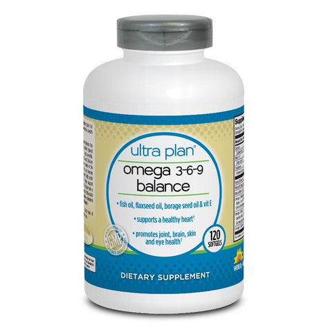Ultra Plan Omega 3-6-9 Balance (120 softgels)