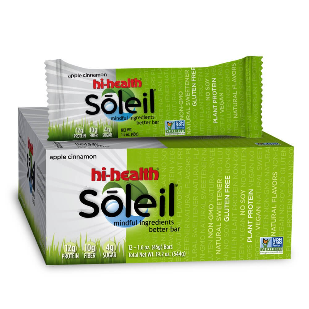 Soleil Nutrition Bar (box of 12)