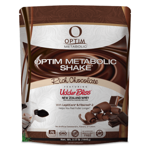 Optim Metabolic Shake with Udder Bliss Whey (3 lbs)