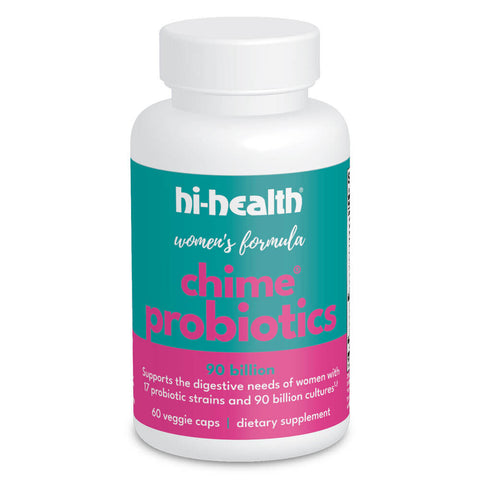Hi-Health Chime Probiotics Women's Formula 17 Strain - 90 Billion (60 capsules)