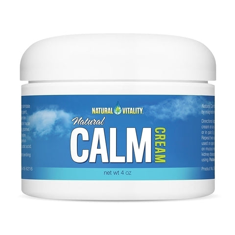Natural Vitality Natural Calm Cream (4 oz)