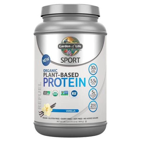 Garden of Life Sport Organic Plant-Based Protein