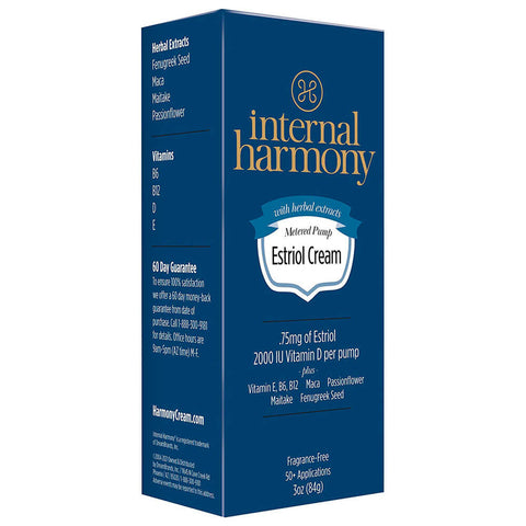 DreamBrands Internal Harmony Estriol Cream (3 oz)