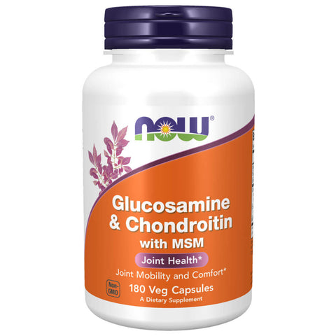 NOW Glucosamine & Chondroitin with MSM (Capsules)