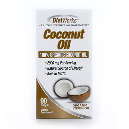 Windmill DietWorks Coconut Oil (90 softgels)