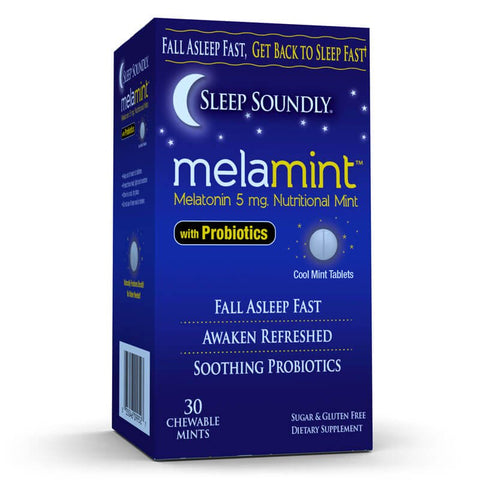 Windmill Sleep Soundly Melamint with Probiotics (30 mints)