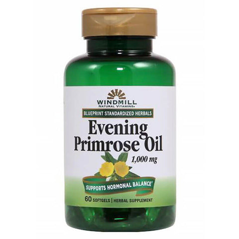 Windmill Evening Primrose Oil 1000mg (60 softgels)