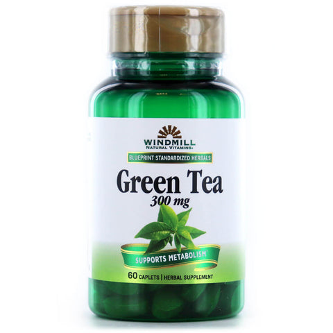 Windmill Green Tea Extract 300mg (60 caplets)