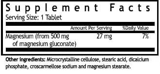 Windmill Magnesium Gluconate 500mg (90 tabs)