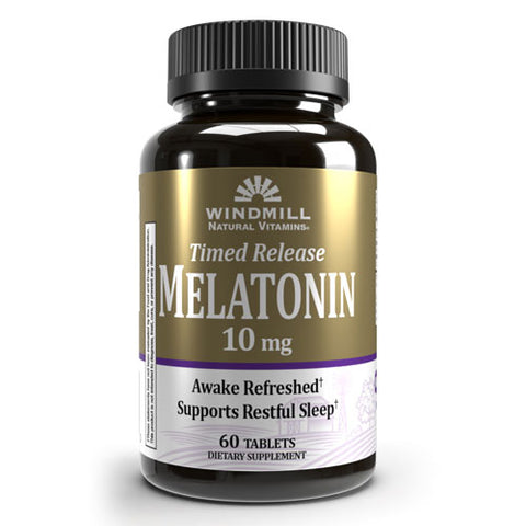 Windmill Timed-Release Melatonin 10mg (60 tabs)