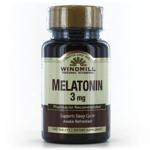Windmill Melatonin 3mg (100 tabs)