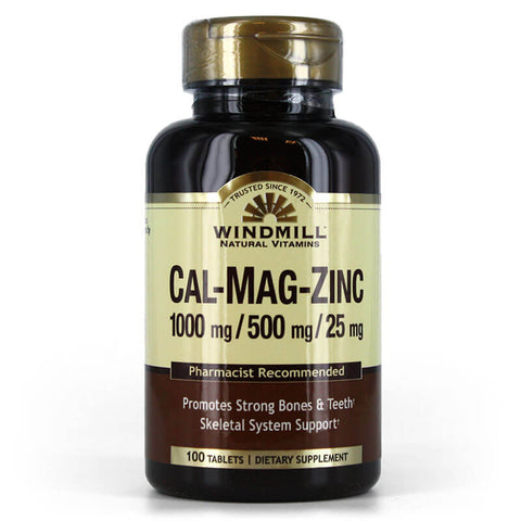Windmill Cal-Mag-Zinc (100 tablets)