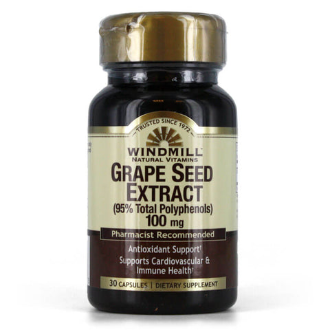 Windmill Grape Seed Extract 100mg (30 capsules)