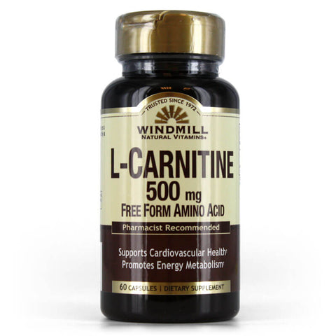 Windmill L-Carnitine 500mg (60 capsules)