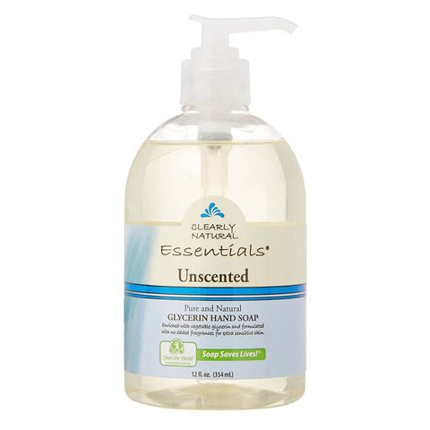 Clearly Natural Liquid Pump Soap - Unscented (12 fl oz)