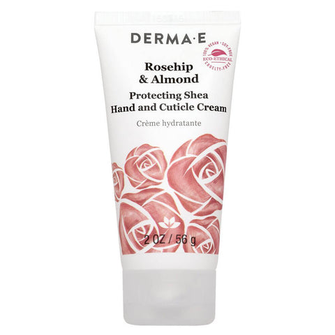 Derma E Rosehip & Almond, Protecting Shea Hand and Cuticle Cream (2 oz)