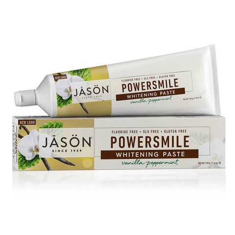 Jason Powersmile Whitening Paste - Vanilla Peppermint (6 oz)