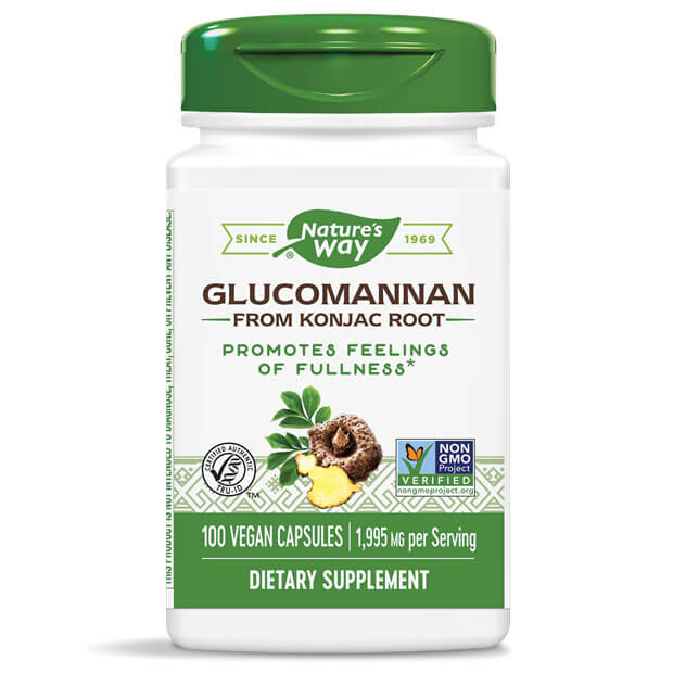 Nature's Way Glucomannan Root (100 caps)