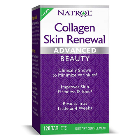 Natrol Collagen Skin Renewal (120 tablets)