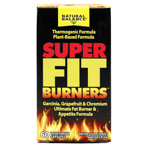 Natural Balance Super Fit Burners (60 capsules)