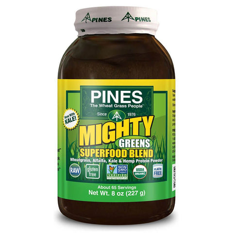 Pines Mighty Greens Superfood Blend (8 oz)