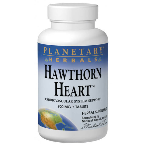Planetary Herbals Hawthorn Heart (120 tablets)