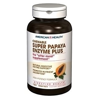 American Health Super Papaya Enzyme Plus (180 tabs)