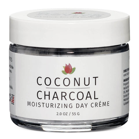 Reviva Labs Coconut Charcoal Moisturizing Day Creme (2 oz)
