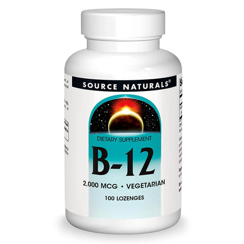 Source Naturals B-12 2000mcg (100 lozenges)