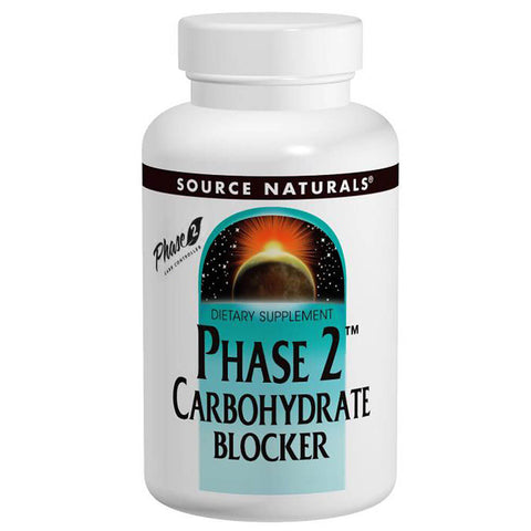 Source Naturals Phase 2 Carbohydrate Blocker 500mg (60 wafers)