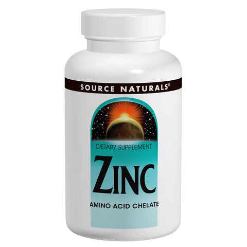 Source Naturals Zinc 50mg (100 tablets)