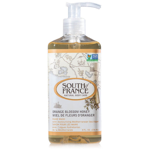 South of France Hand Wash - Orange Blossom Honey (8 fl oz)
