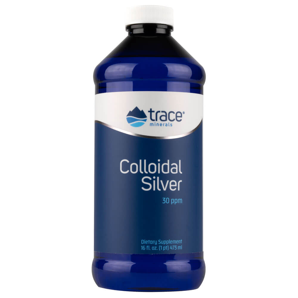 Trace Minerals Research Colloidal Silver 30ppm