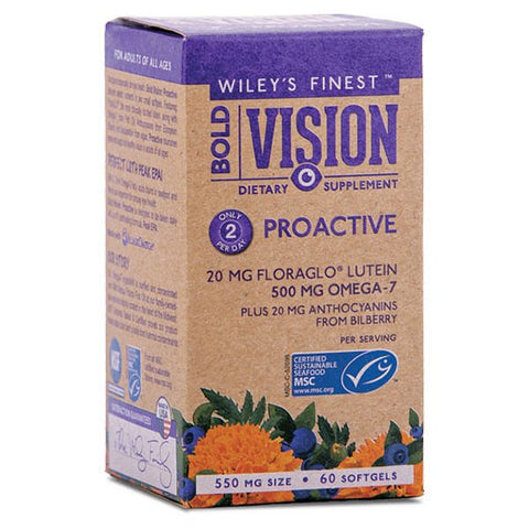 Wiley's Finest Bold Vision Proactive (60 softgels)