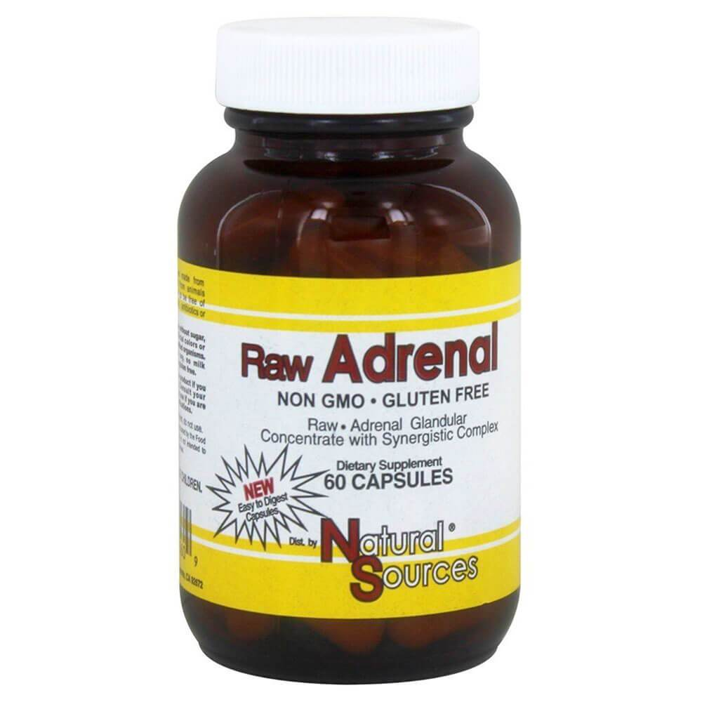 Natural Sources Raw Adrenal (60 capsules)