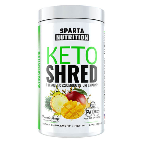 Sparta Nutrition Keto Shred - Pineapple Mango (12.7 oz)