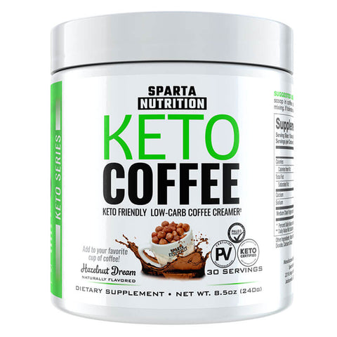 Sparta Nutrition Keto Coffee - Hazelnut Dream (8.5 oz)