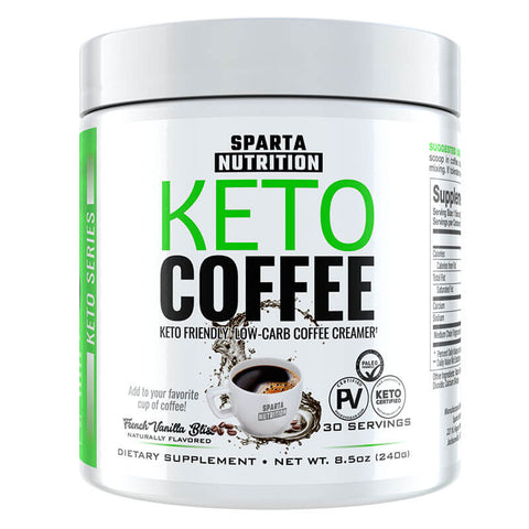 Sparta Nutrition Keto Coffee - French Vanilla Bliss (8.5 oz)