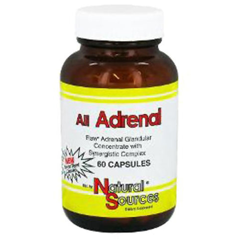 Natural Sources All Adrenal (60 capsules)