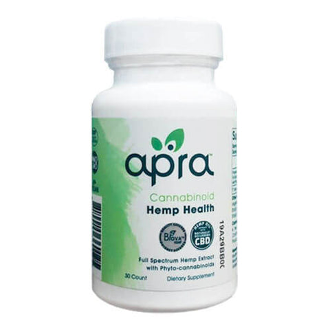 Apra Cannabinoid Hemp Health 25mg (30 caps)