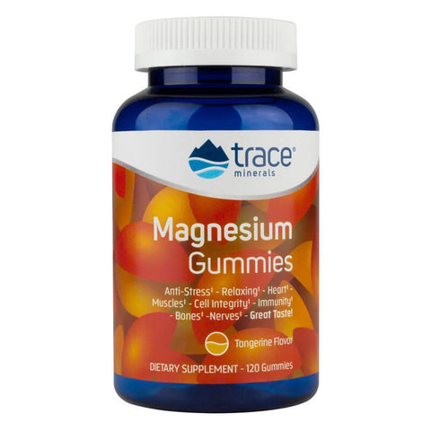 Trace Minerals Research Magnesium Gummies - Tangerine (120 gummies)