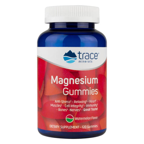 Trace Minerals Research Magnesium Gummies - Watermelon (120 gummies)