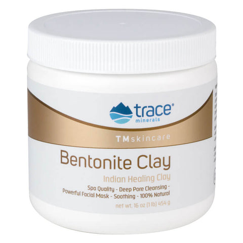 Trace Minerals Research Bentonite Clay (8 fl oz)