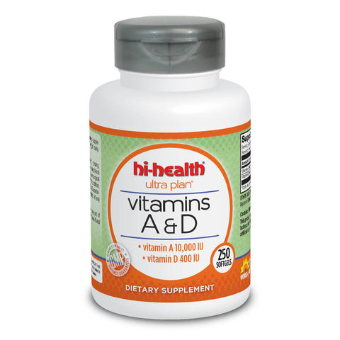 Ultra Plan Vitamins A&D (250 softgels)